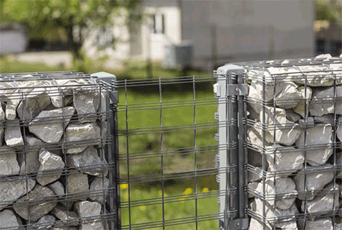 clotures en gabions